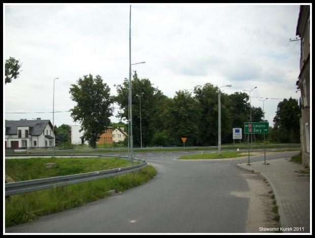 Bożnów - wjazd do Żagania