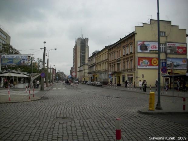 widok na ul Dworcową
