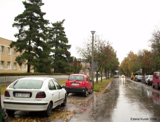 uliczka w Ciechocinku 1