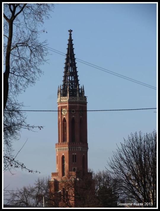 Żagań - z PIłsudskiego na wieżę zoom 3