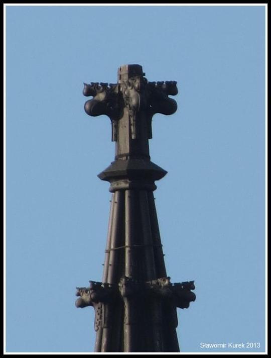 Żagań - z Piłsudskiego na wieżę zoom 4