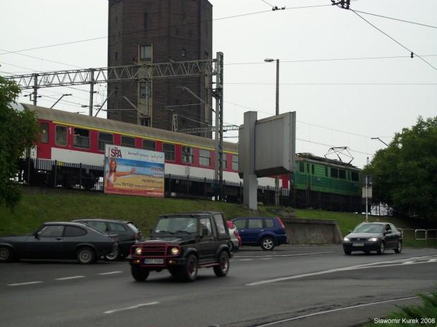 nieopodal stacji w Katowicach