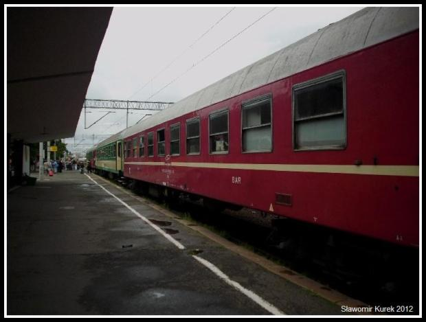 Zielona Góra - pociąg Piorun 7