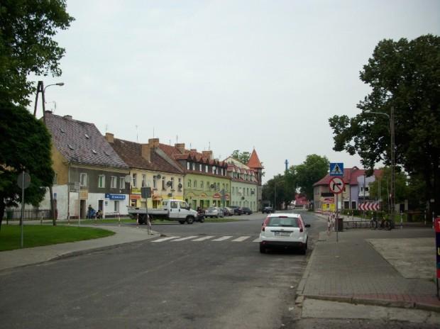Plac Wolności w stronę Żagańskiej