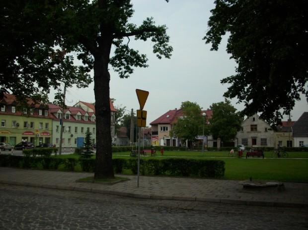 Plac Wolności w Iłowej
