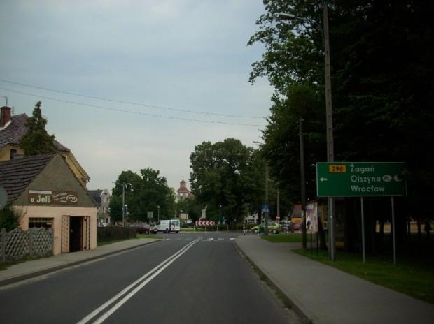 Kolejowa w stronę Placu Wolności 1
