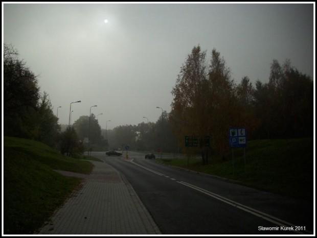 Nowogród - mgła
