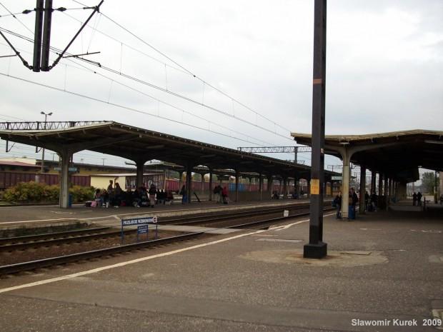 Toruń Wschodni - perony