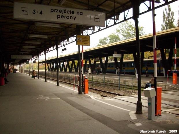Toruń Główny - na peronie