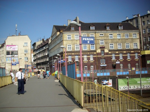 Szczecin Główny kładka