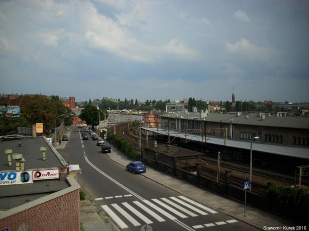 Szczecin Główny widok 1