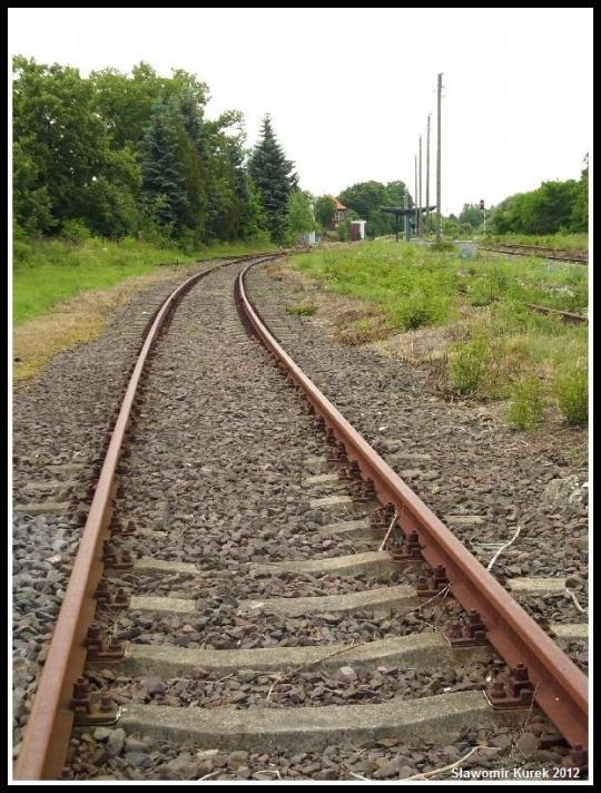 Szprotawa - widok na peron