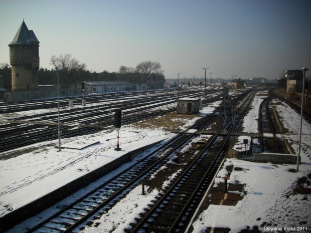 Szprotawa - peron stacji 1