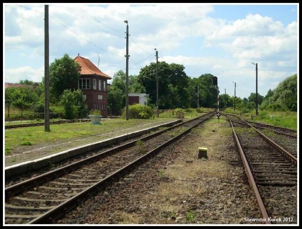 Szprotawa - peron stacji 3