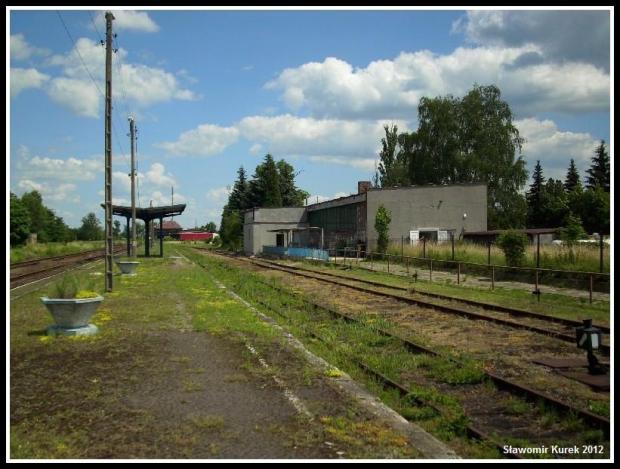 Szprotawa - peron stacji 2