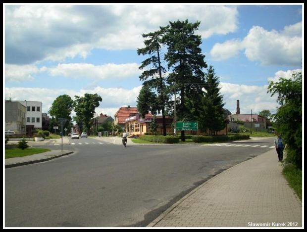 Szprotawa - rozwidlenie dróg