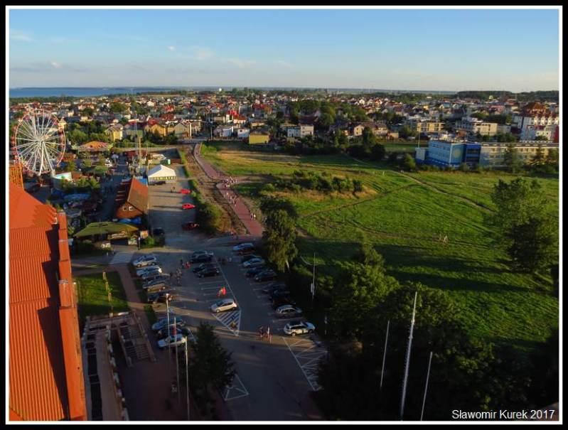 Władysławowo - widok z wieży 9