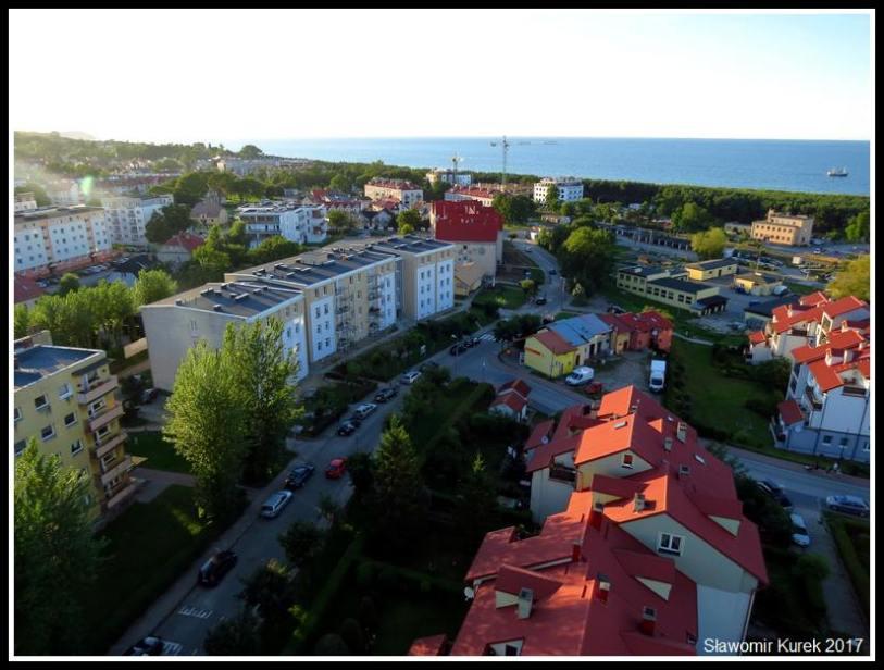 Władysławowo - widok z wieży 1