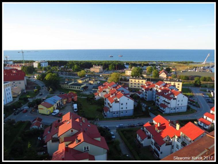Władysławowo - widok z wieży 2