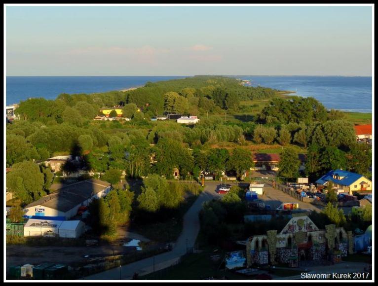 Władysławowo - widok z wieży 7