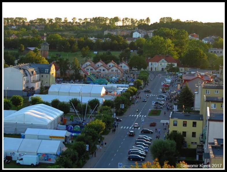 Władysławowo - widok z wieży 11