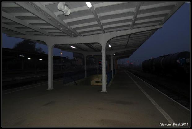 Żagań - stacja o 4:30