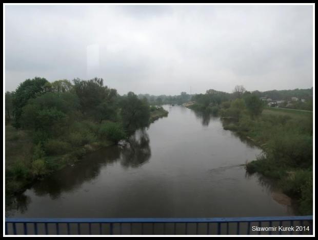 Sieradz - rzeka Warta