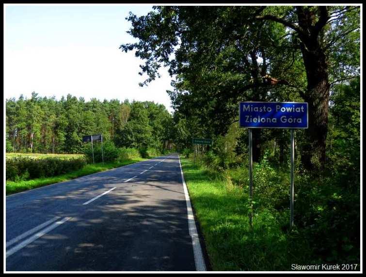 Zielona Góra - wjazd 1