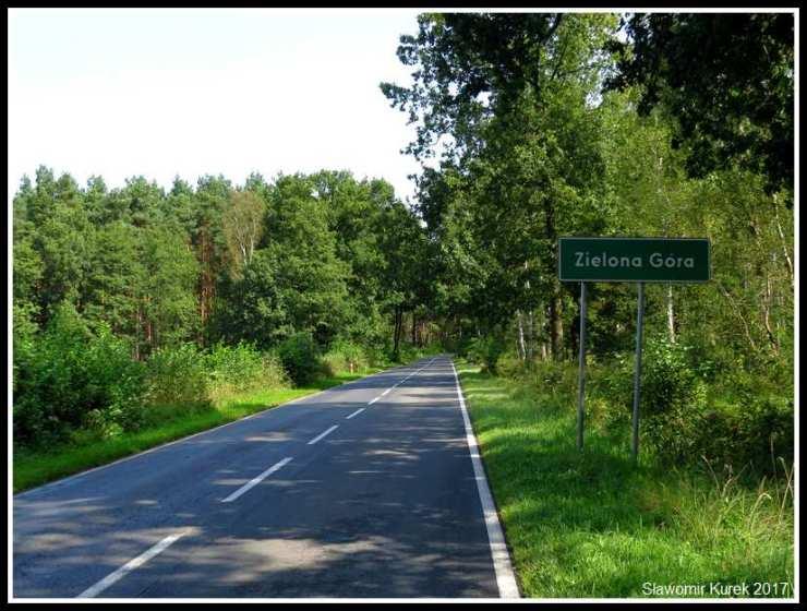 Zielona Góra - wjazd 2