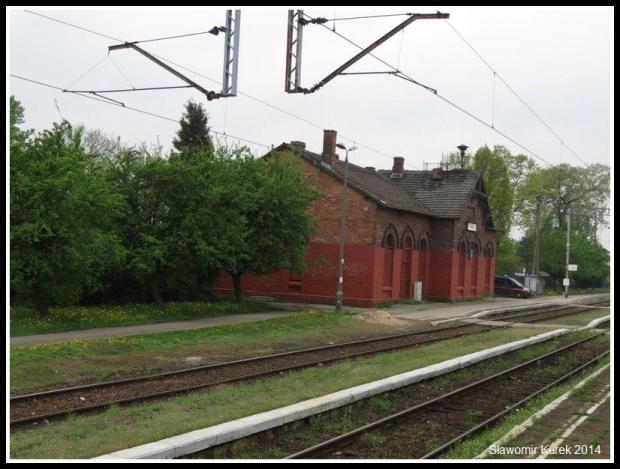 Łask - stacja kolejowa 1