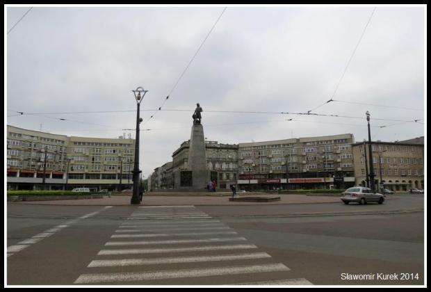 Łódź - Plac Wolności 1