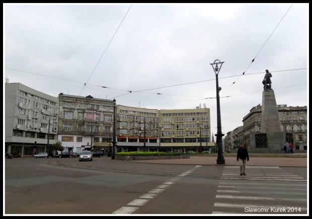 Łódź - Plac Wolności 2