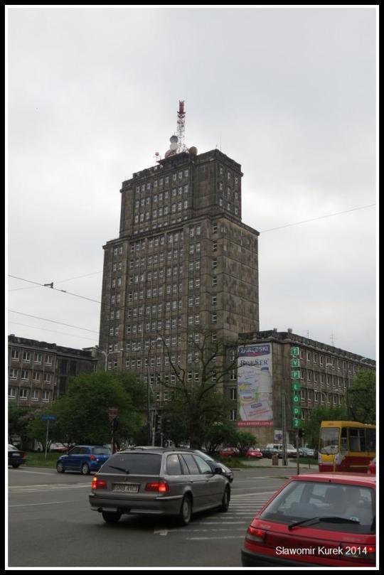 Łódź - wieżowiec 1