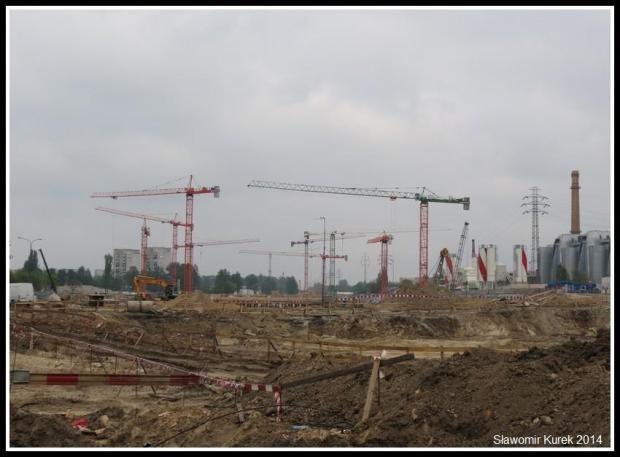 Łódź Fabryczna - budowa 1