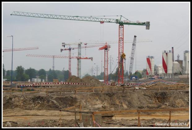 Łódź Fabryczna - budowa 2
