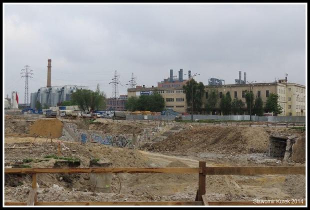 Łódź Fabryczna - budowa 3