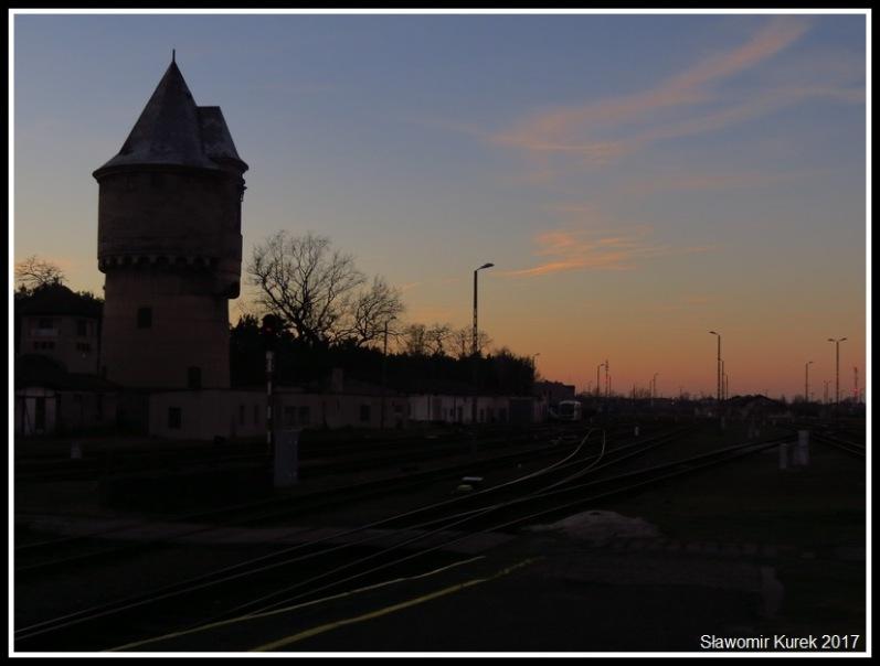 Żagań - stacja w grudniu 3
