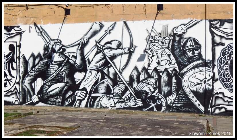 Głogów - mural