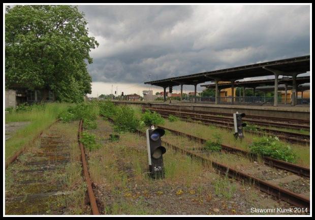 Żagań - perony i torowiska 3