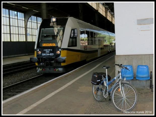 Legnica - rowerowy start 2
