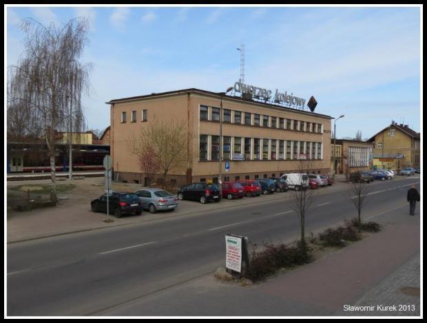 Wolsztyn - budynek dworca PKP 2