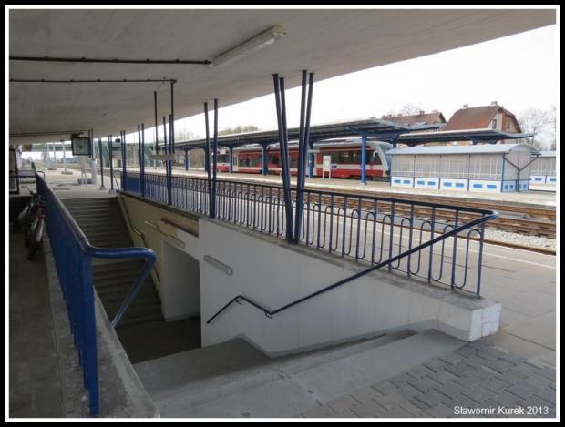 Wolsztyn - stacja z peronu I (1)
