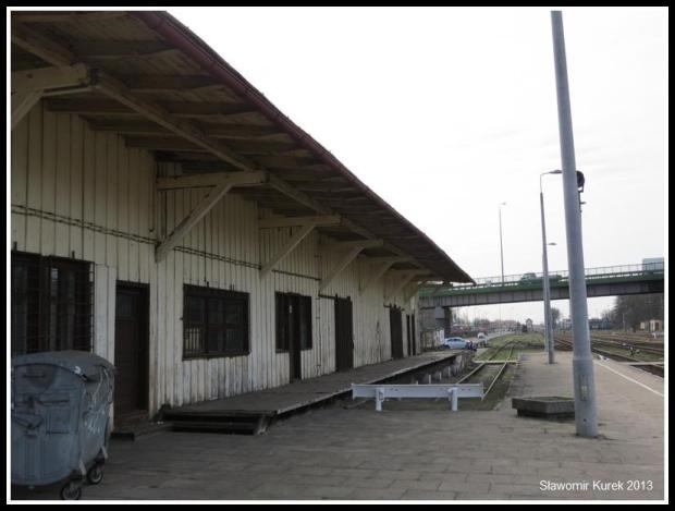Wolsztyn - stacja z peronu I (3)