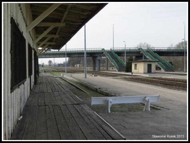 Wolsztyn - stacja z peronu I (4)