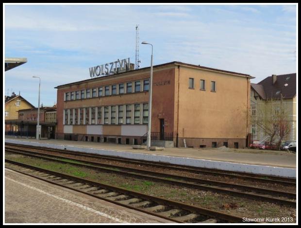 Wolsztyn - budynek dworca PKP 4