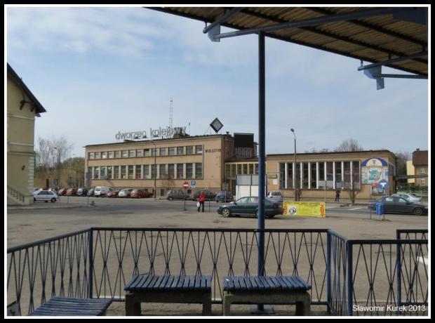 Wolsztyn - budynek dworca PKP 3