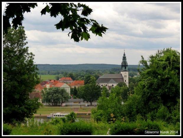Krosno Odrzańskie - panorama, statek 2