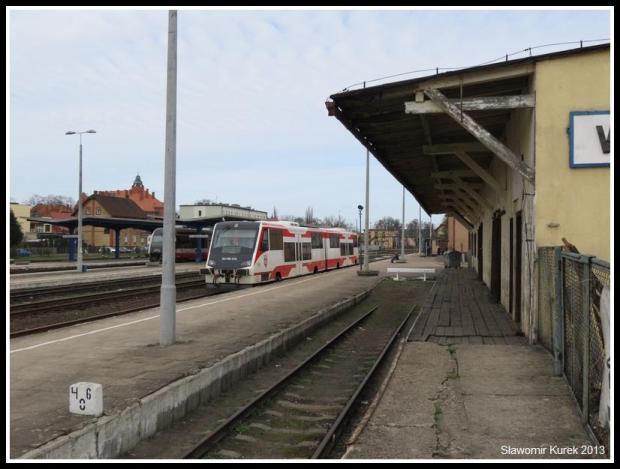 Wolsztyn - stacja z peronu I (5)