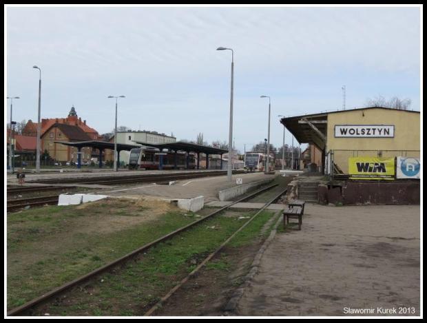 Wolsztyn - stacja z peronu I (6)