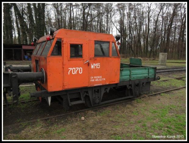 Wolsztyn - drezyna WM5 7070